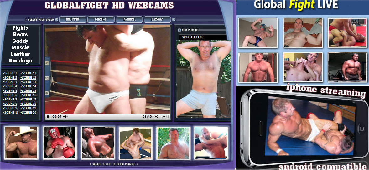 GlobalFight Musclemen Wrestling